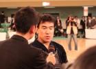 Учимура дава първо интервю след финала